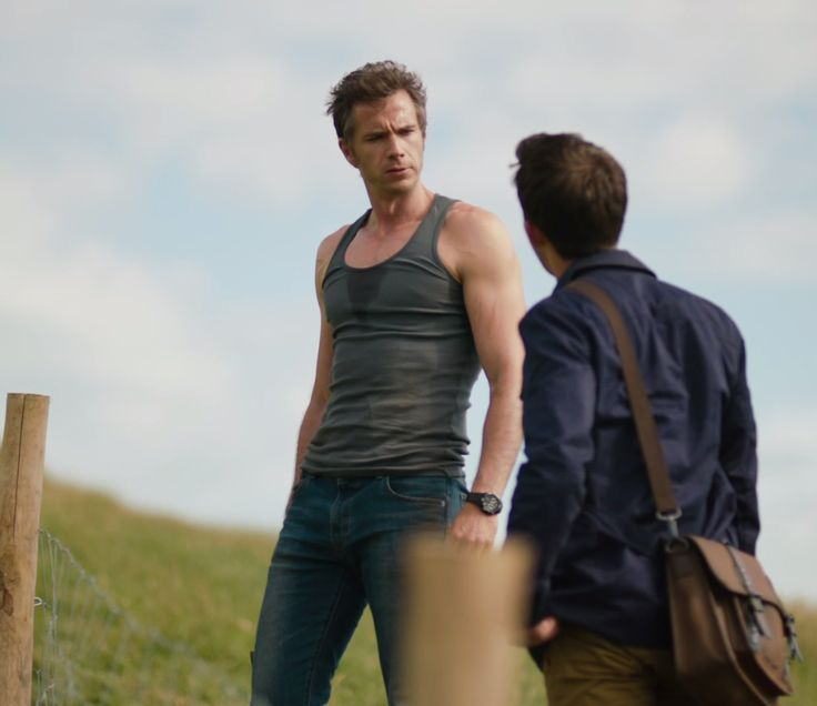 Or just James D'Arcy's ridiculous arms and highly provocative posture. What was Broadchurch series 2 even about again?