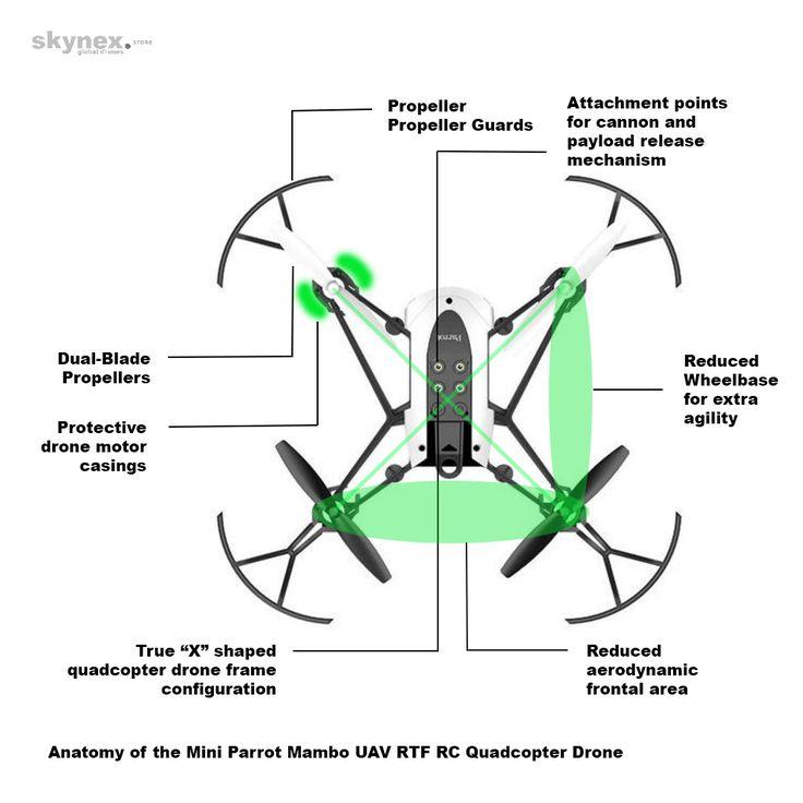 Buy The Mambo Mini UAV RC Quad Drone Best Toy W