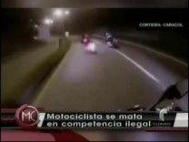 Motociclista Muere En Accidente Durante Competencia Ilegal #Video