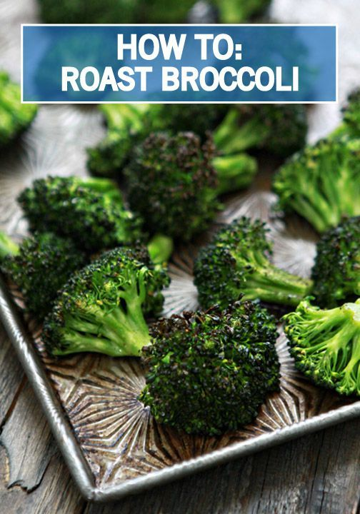 Do you love roasting fresh vegetables in the oven? Use this helpful tutorial to learn how to properly roast broccoli to perfection right in your own kitchen. This food hack is going to be your favorite new way to make side dishes!