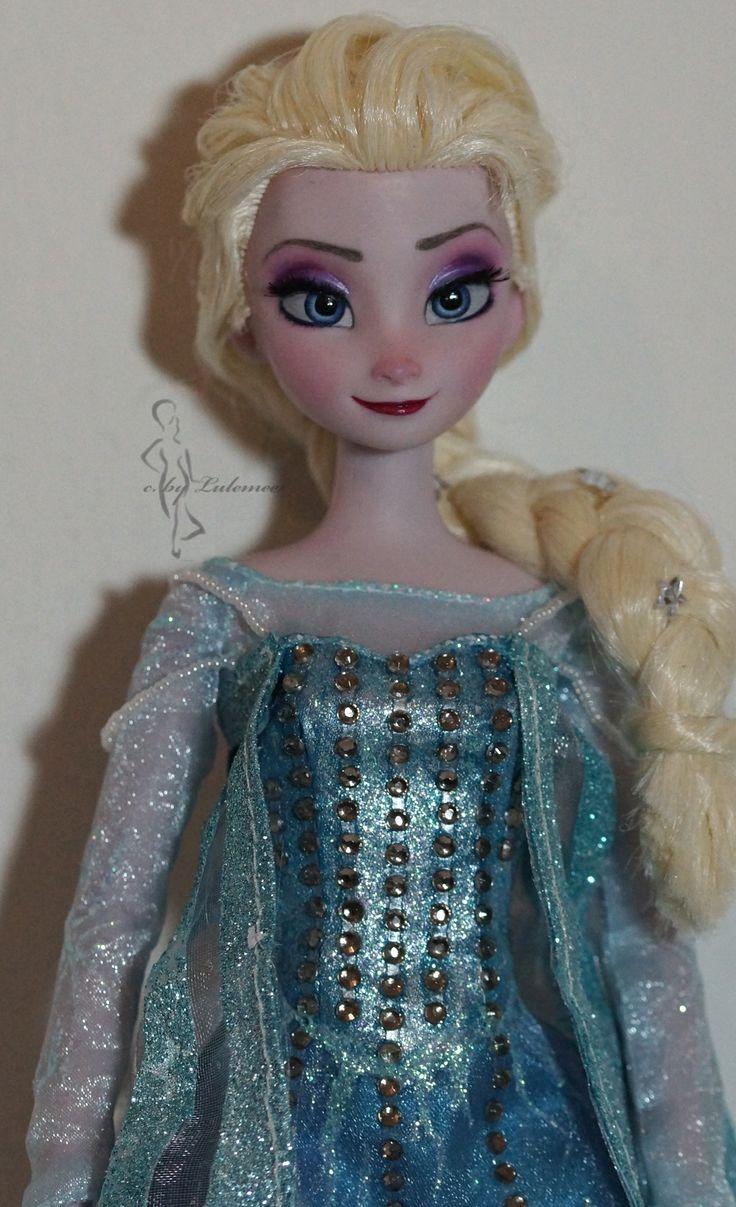 35 Best Images About Disney Frozen Ooak Dolls On Pinterest