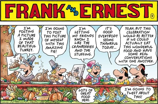 frank and ernest comic strip