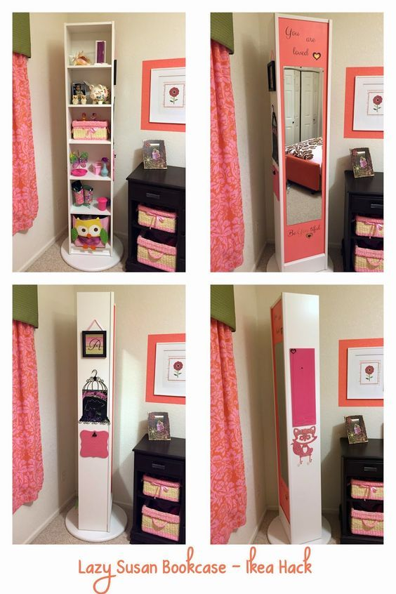 lazy susan bookcase 2