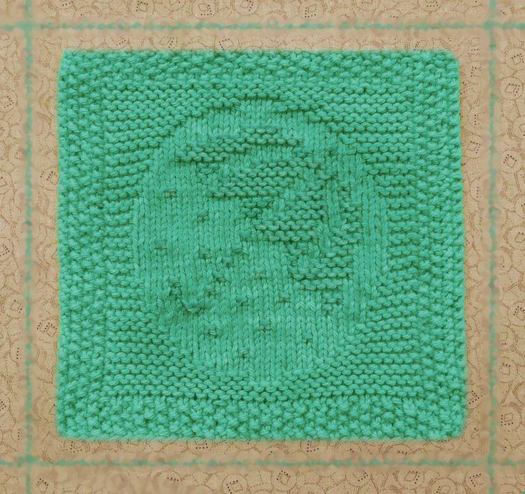 knitted dishcloth, umbrella, 100% cotton, summer, rain, raindrops, hand knit dish cloth, knitted washcloth, green, cotton dishcloth - pinned by pin4etsy.com
