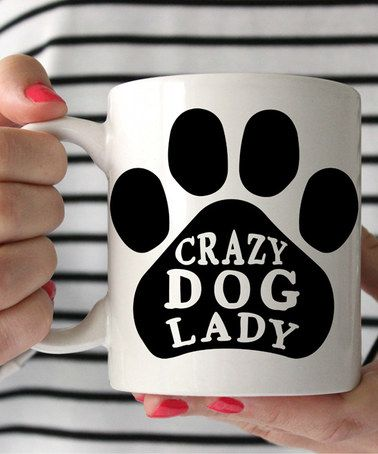 'Crazy Dog Lady' Mug ==