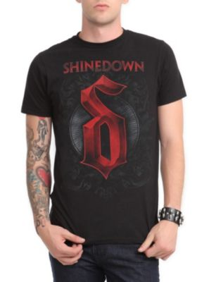Shinedown Logo Slim-Fit T-Shirt