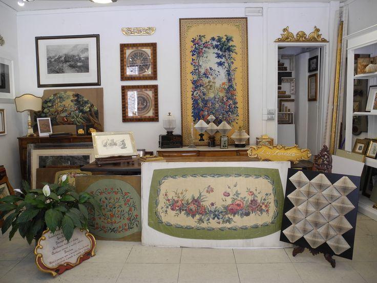 """La bottega """"la Cornice"""" , è un negozio storico in centro a Padova."""