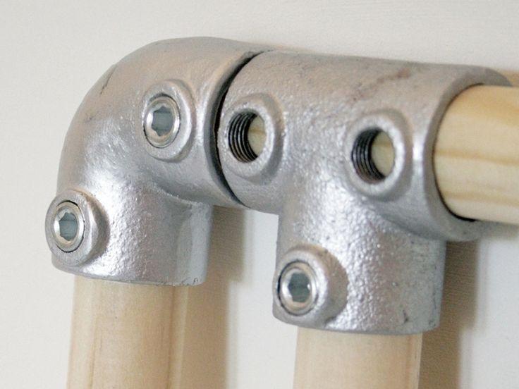 les 25 meilleures id es de la cat gorie tag res en tuyaux sur pinterest tag res tuyaux. Black Bedroom Furniture Sets. Home Design Ideas