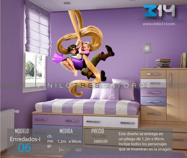 41 best vinilos princesas images on pinterest baby boy - Pegatinas disney para habitaciones ...