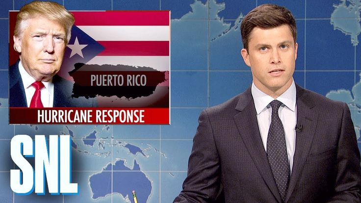 awesome Weekend Update on Hurricane Maria - SNL