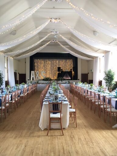 Getting Married In A Village Hall Lighting Can Make All The Difference Order To