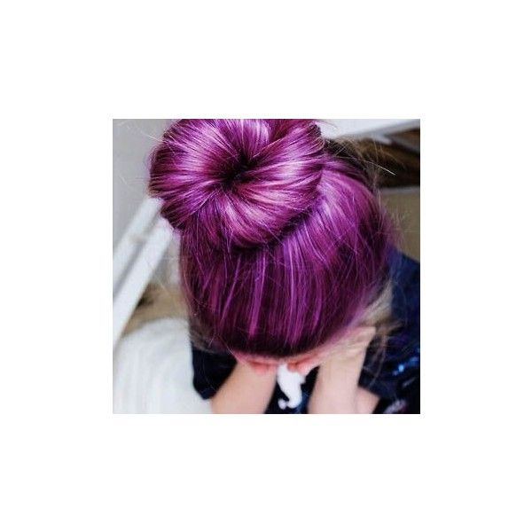 Purple pastel lavender hair Colorful Hair ❤ liked on Polyvore featuring beauty products, haircare, hair styling tools, hair and hairstyles