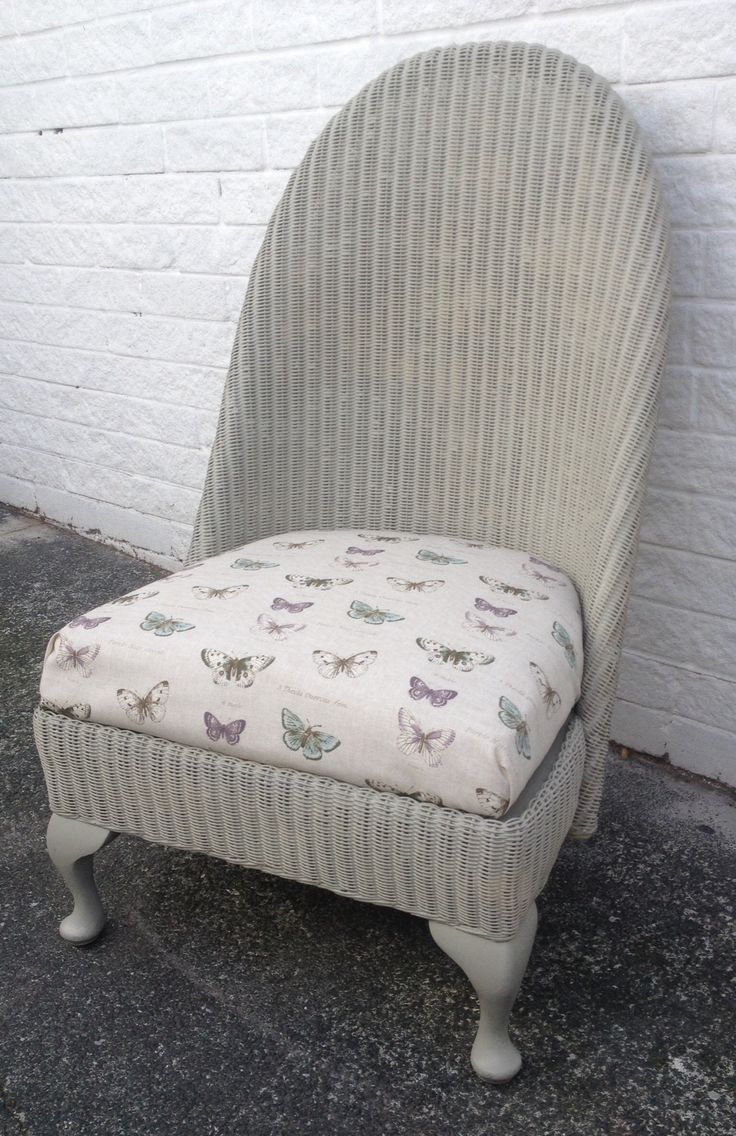 Lloyd loom nursing chair