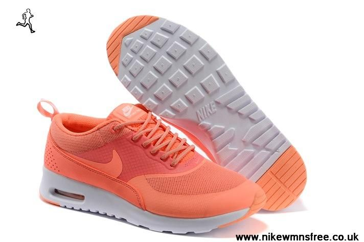 New Orange Nike Air Max Thea Print Womens Shoes 2014 New Releases For Wholesale