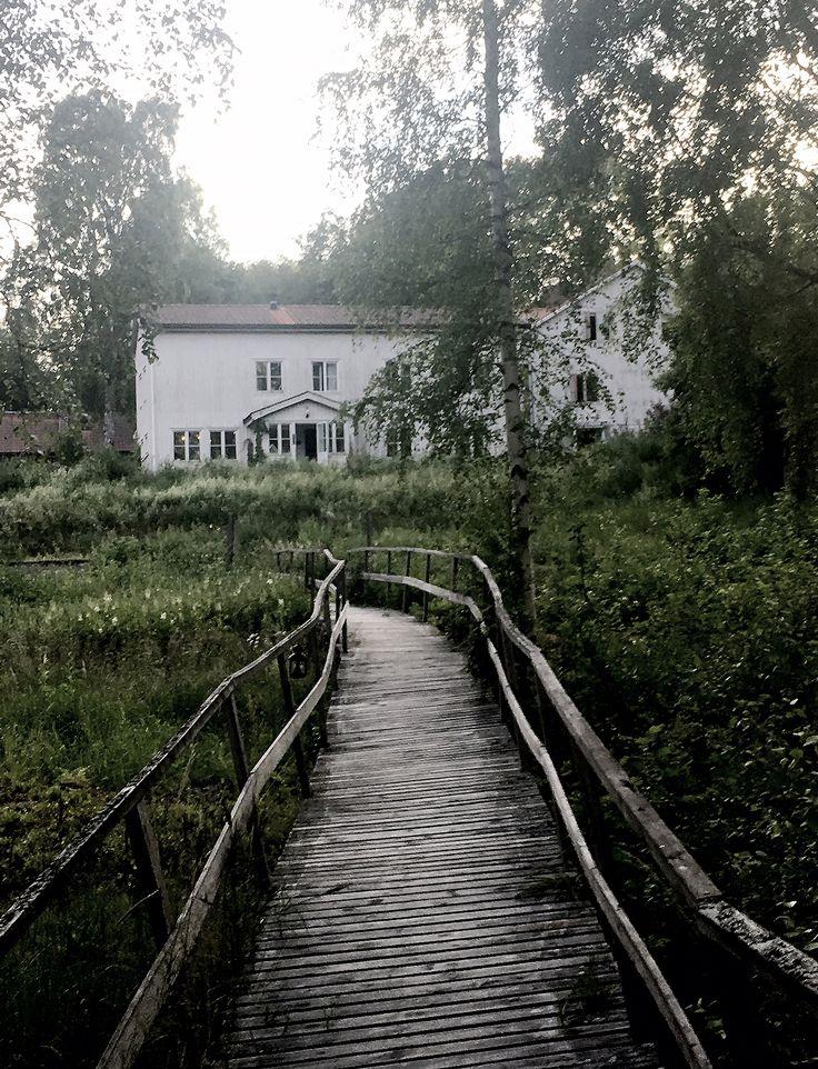 Reflektioner från vårt besök och övernattning på Sågverket utanför Härnösand på väg upp till sommarstugan.