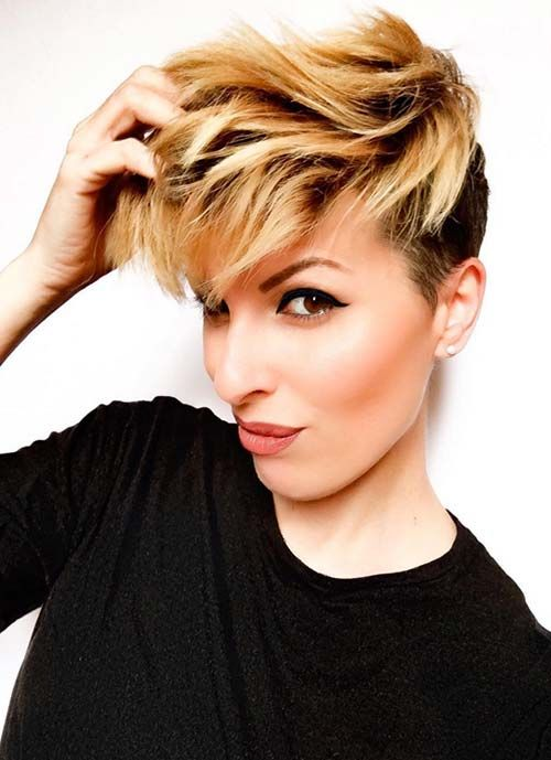 Short Hairstyles for Women: Feminine Pixie