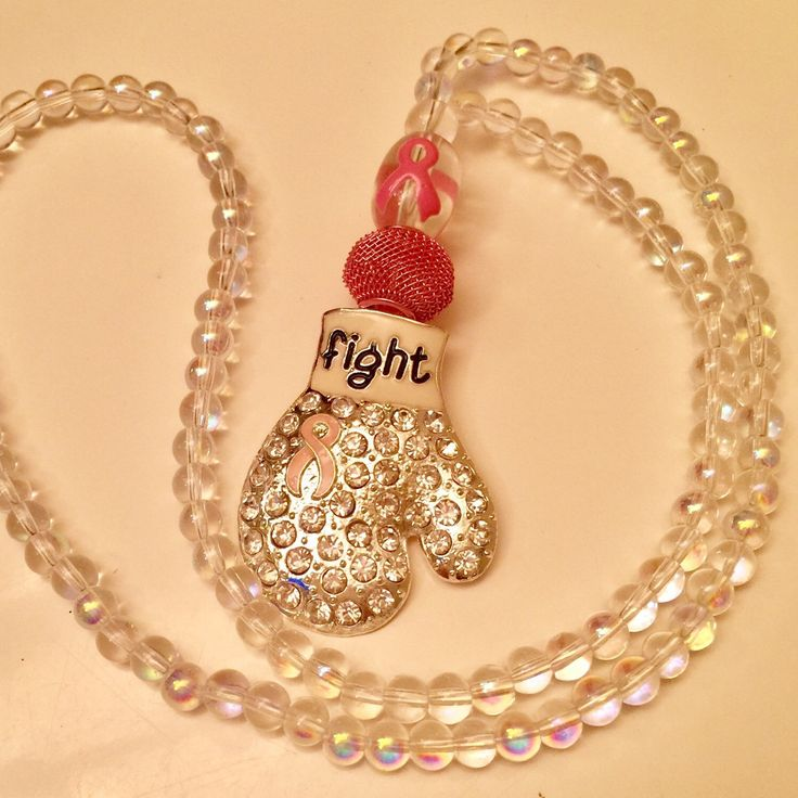 New version now available:  Silver Glove with Clear Iridescent Beads
