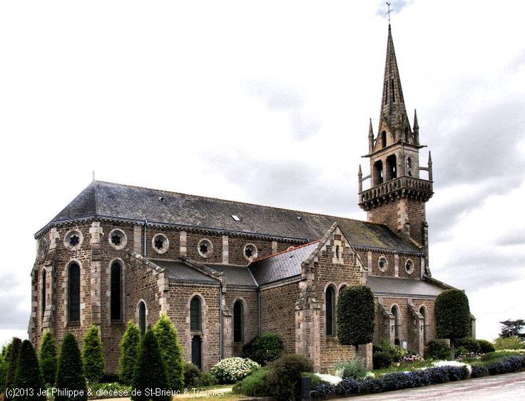 Église St-Cieux, à Lancieux.