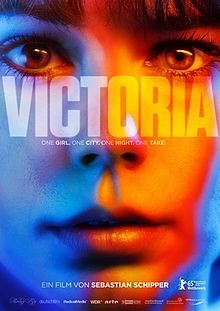 Victoria is a 2015 German drama film directed by Sebastian Schipper, starring Laia Costa and Frederick Lau. It is one of the few feature films shot in a single continuous take.