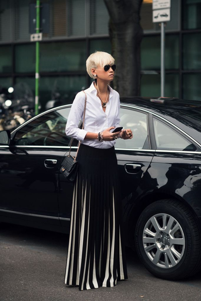 Esther Quek looking phenomenal in Milan - Street style - Love!!!