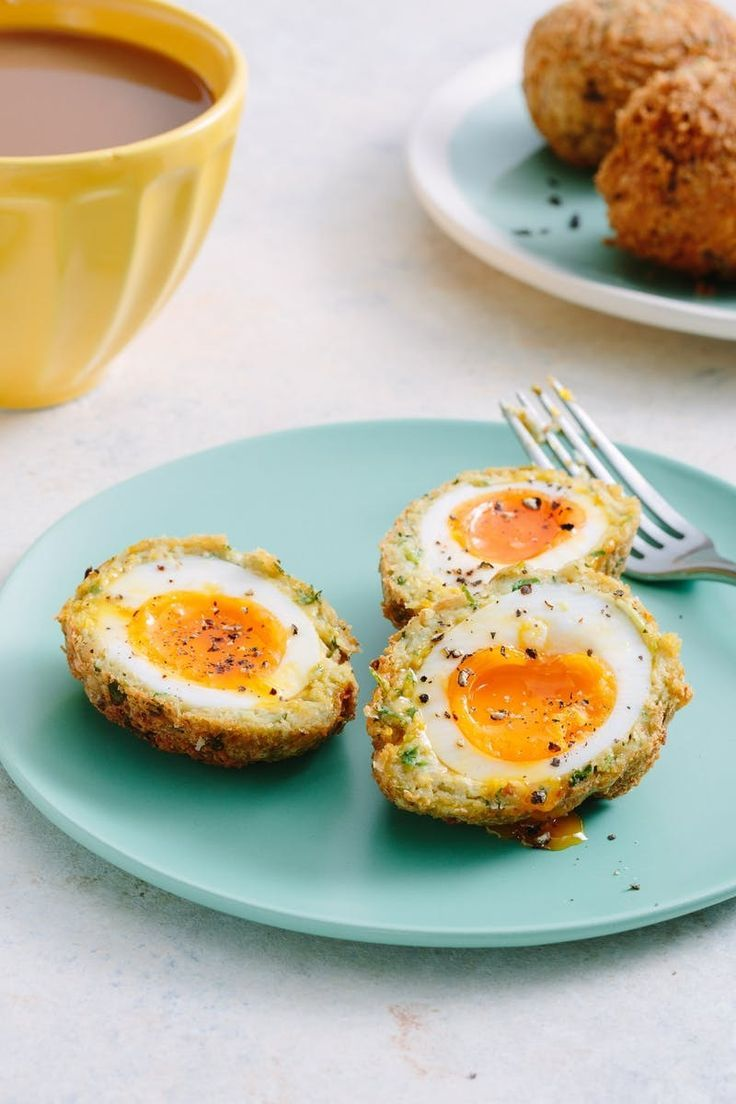 Recipe: Falafel Scotch Eggs | Kitchn
