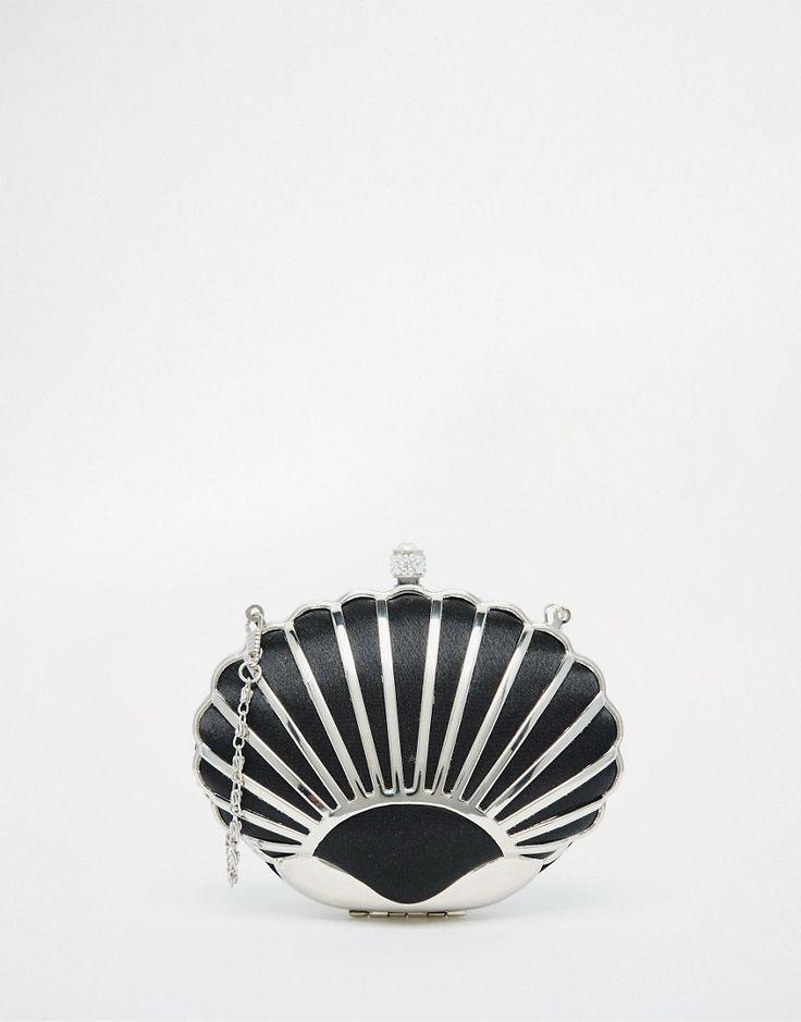 Immagine 1 di Vintage Styler - Pochette nera a conchiglia