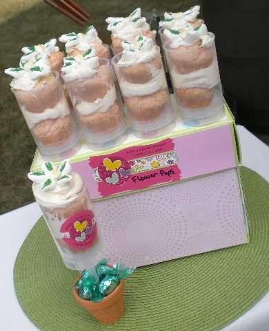butterfly baby shower favors mini cake push pops