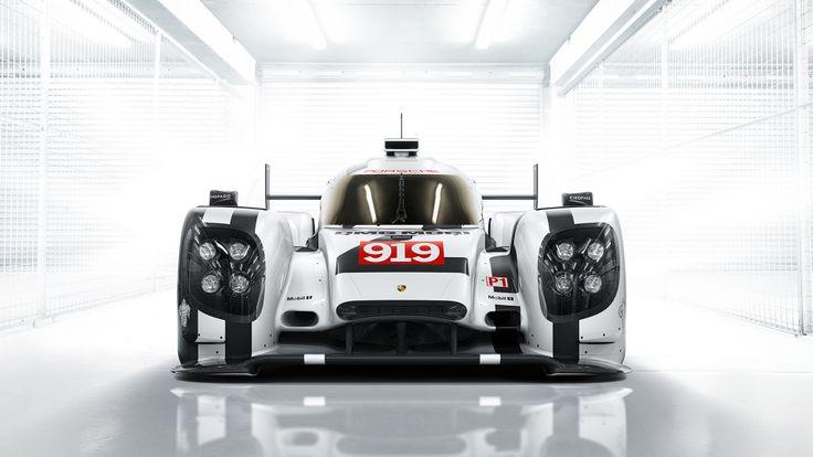 2014 Porsche 919 Hybrid http://www.wsupercars.com/porsche-2014-919-hybrid.php