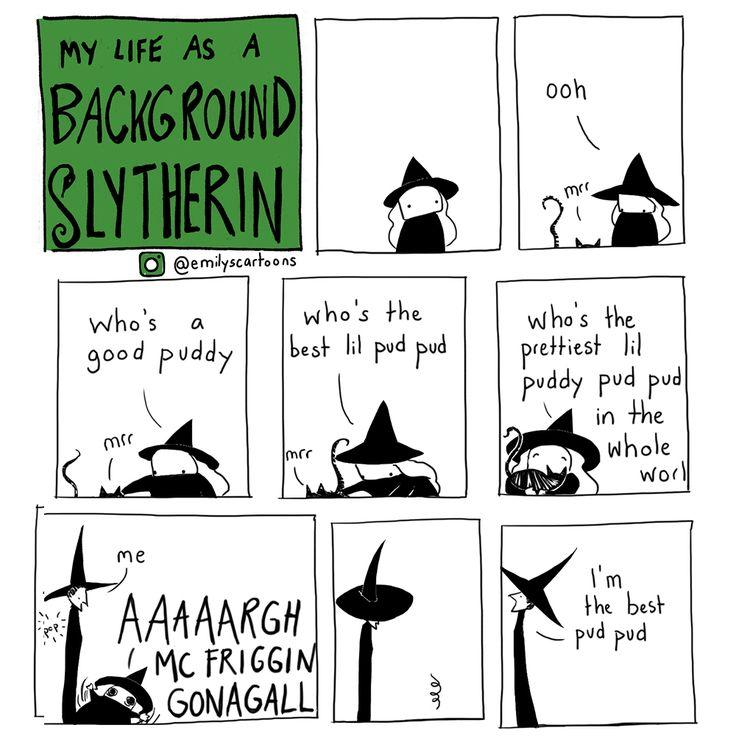THIS KILLS MEEEE!!!!!!!! Home of Background Slytherin Insta (@emilyscartoons)