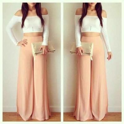 Los pantalones palazzo han vuelto para convertirse de nuevo en tendencia. ¡Aquí tenéis algunas ideas en looks!