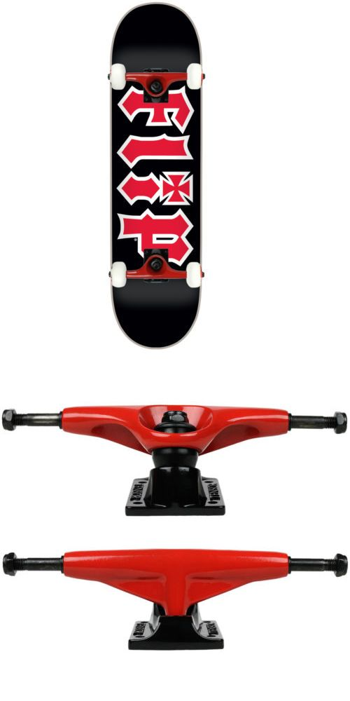 Skateboards-Complete 16264: Flip Skateboard Complete Hkd Black 7.75 Tensor Assembled -> BUY IT NOW ONLY: $84.95 on eBay!