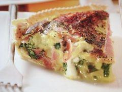 Ricetta facile e veloce: Quiche di asiago e patate.Preparazione: 30' Cottura: 45' Esecuzione: facile Stendi la pasta bris�e foderando una tortiera a bordi �.