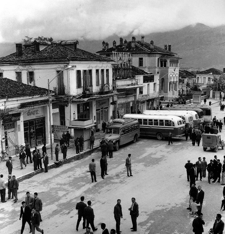 Κεντρική Πλατεία, Άγγελος Καλογερίδης, δεκαετία '60.