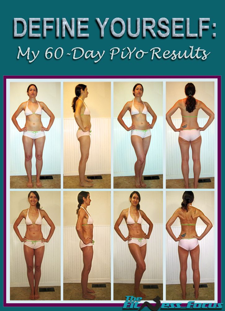 #piyo #piyoresults 60 Day Before & After Piyo Results with complete review. #piyo #piyoresults  www.thefitnessfocus.com