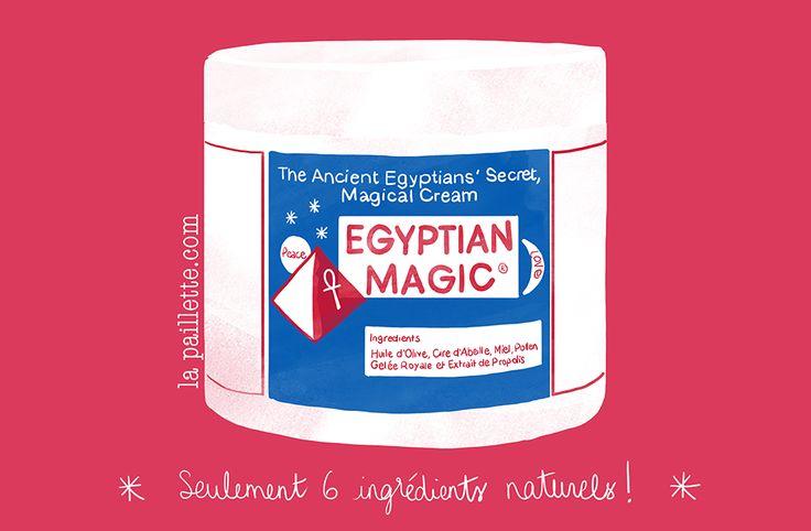 La Paillette - Blog Rennes Illustrations Mode Lifestyle: Le baume Egyptian Magic: TOP!