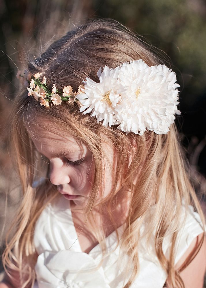 This Sweet Flower Halo Makes Me Wish I Had A Flower Girl