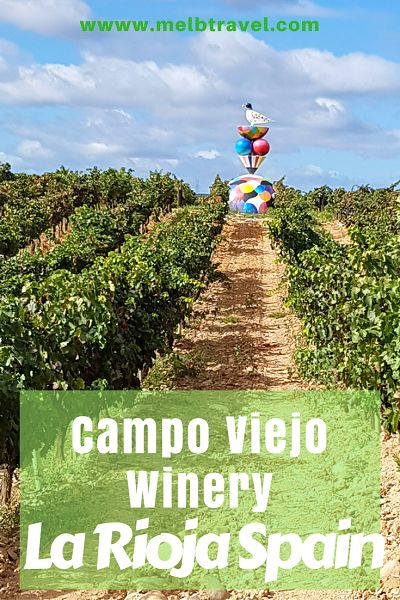 Campo Viejo Winery - La Rioja Spain - MelbTravel