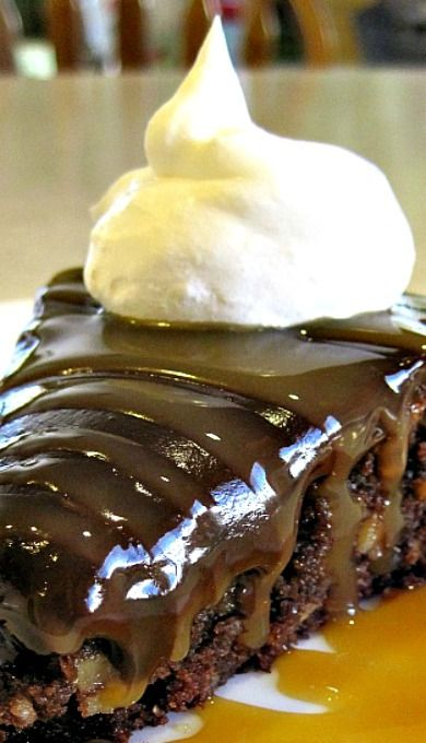 Decadent Brownie Pie - amazing chocolate dessert! ✿⊱╮