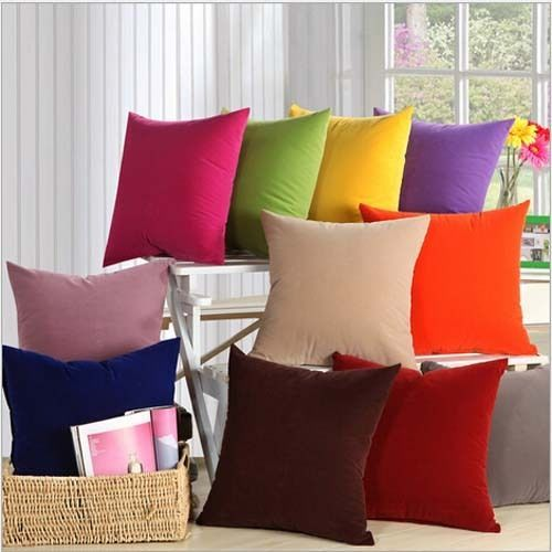 """9 COLORS!Decorative Pure Pillows Cover/Cushion Cover  19""""x19"""""""