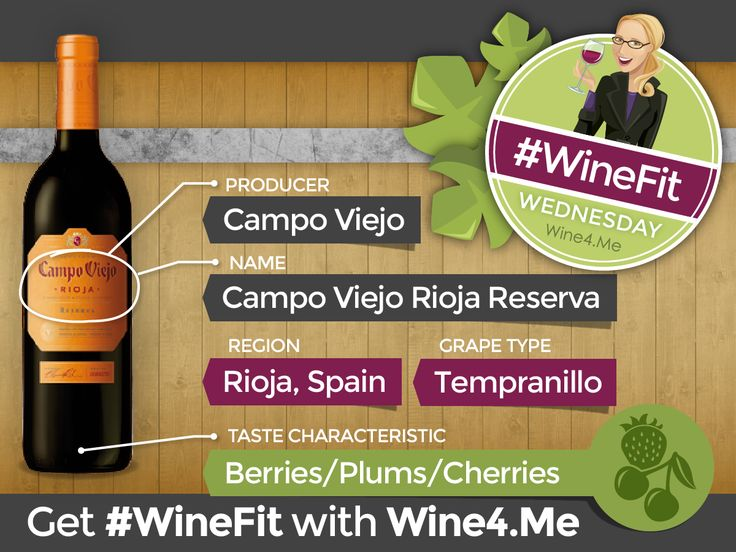 Campo Viejo Rioja Reserva Tempranillo: #WineFit Wednesday