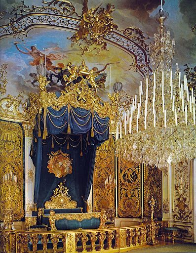 """Linderhof Castle """"a royal flight of fancy set in the foothills of the Alps,this elaborate Bavarian palace was designed by theatrical set decorators and inspired by Versailles!"""""""