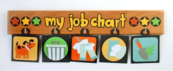 Cricut...blog!Kids Chore, Job Charts, Chore Ideas, Children Job, Children Chore, Child Chore, Charts Ideas, Children Charts, Chore Charts