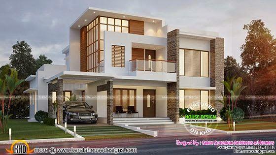 Kerala home design and floor plans: kerala home design