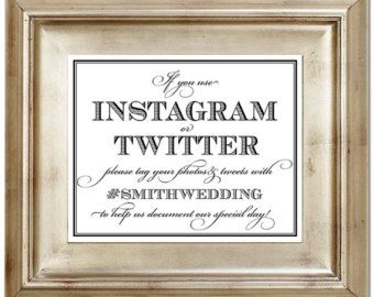 wedding hashtags examples - Google Search