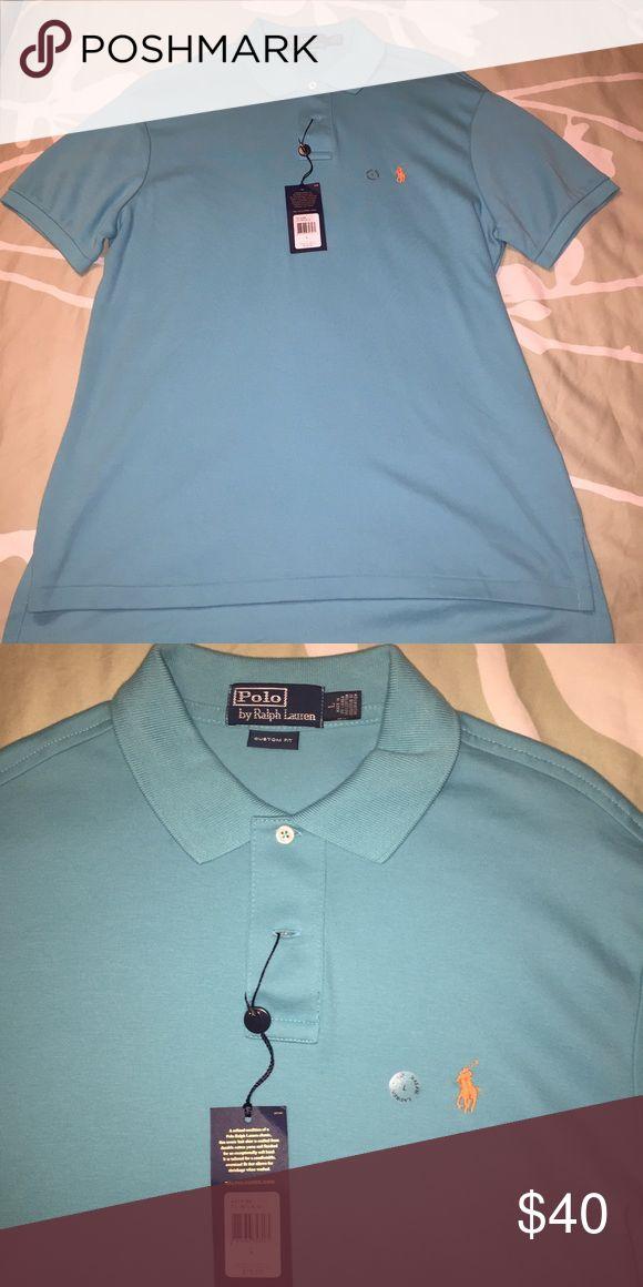 Aqua blue Polo t shirt for men Brand new polo t shirt for men Polo by Ralph Lauren Shirts Polos