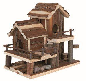 Birte House - 25 × 24 × 16 cm - mice, hamsters etc: Amazon.co.uk: Pet Supplies