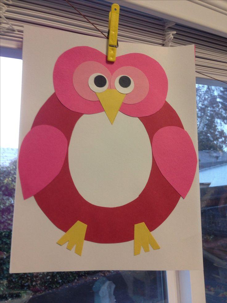 Letter O Owl Craft Letter o owl craft. via sarah hall