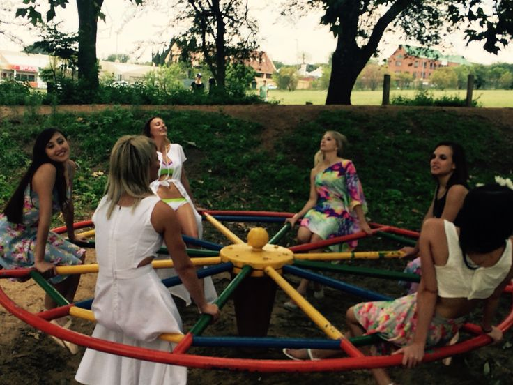 Fun in the sun and at the park. Behind the scenes at photoshoot