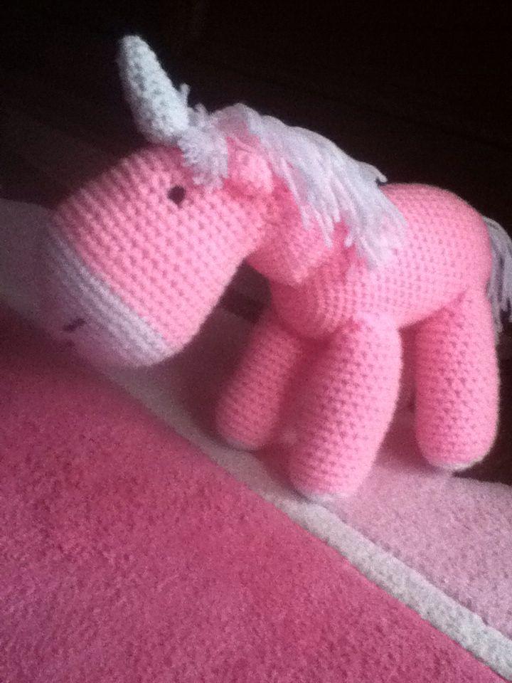 Pink fluffy unicorns dancing on rainbows.