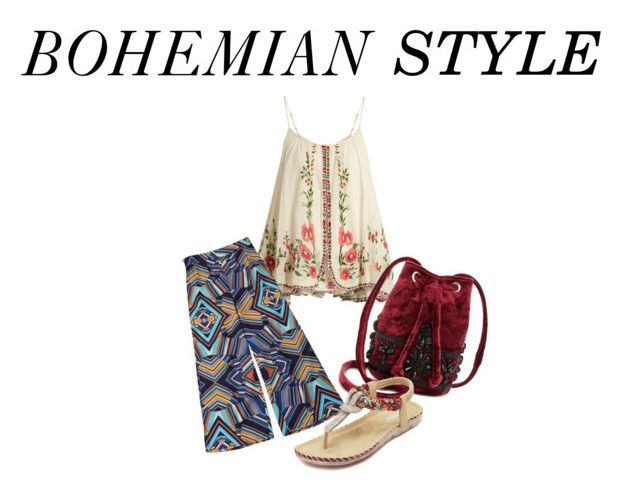 """Bohemian Style"" by monaangkotasan on Polyvore featuring Mes Demoiselles... and Steve Madden"